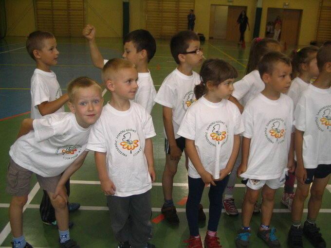 Maluchy na olimpiadzie w Kruszwicy