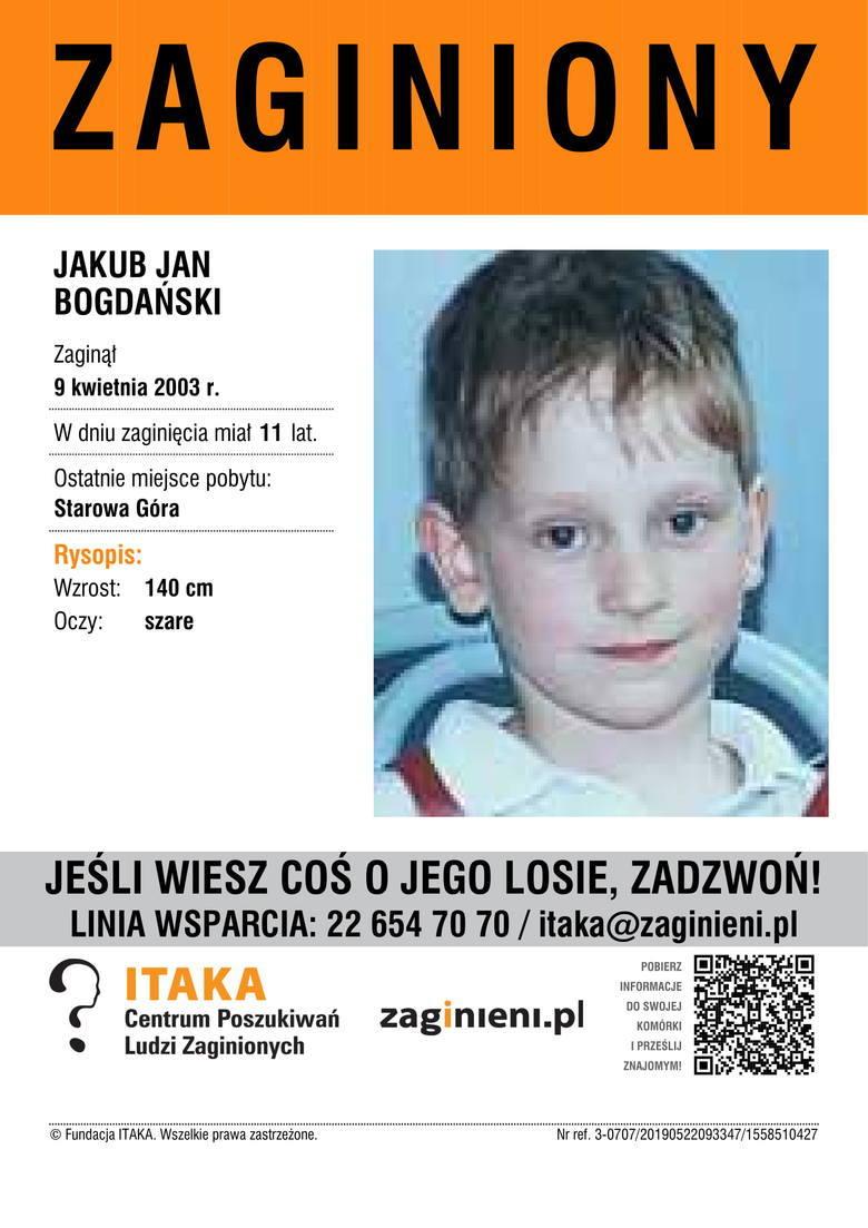 Zaginione dzieci z Polski. Rozpoznajesz kogoś? Aktualizacja - wrzesień 2019