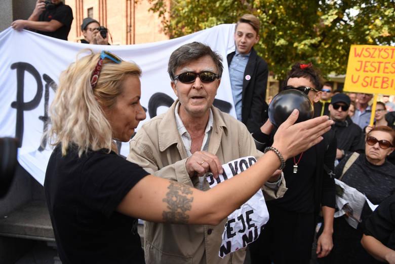 Tak przebiegał Czarny Protest w Toruniu.