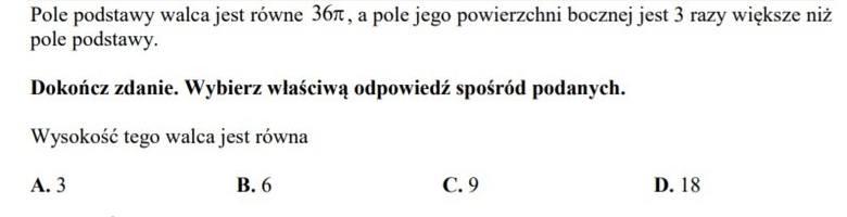 Egzamin gimnazjalny 2019: MATEMATYKA. Przecieki, odpowiedzi, arkusze CKE, rozwiązania (10.04.2019)