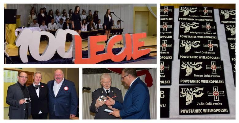 Niezwykłe wzruszającą uroczystość patriotyczną zorganizowano w Szkole Podstawowej w Złotnikach Kujawskich. Rodziny uczestników powstań narodowych otrzymały
