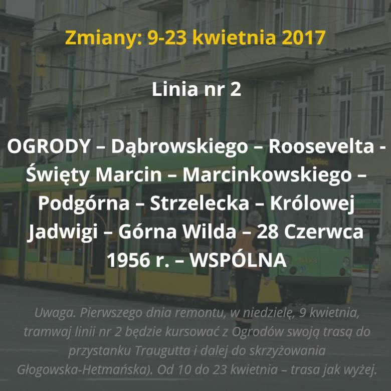 9 kwietnia tramwaje wrócą na ulicę Fredry. Tego samego dnia rozpocznie się kolejny remont torowiska - tym razem na ul. 28 Czerwca 1956 r. (między ul.