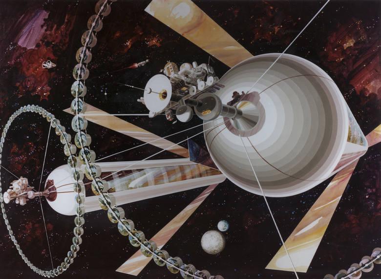 Tak pół wieku temu wyobrażaliśmy sobie życie na Księżycu
