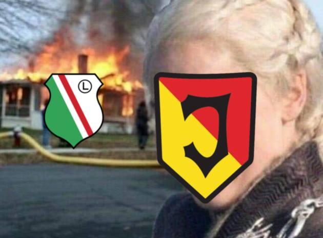 Legia Warszawa przegrywając w Białymstoku z Jagiellonią 0:1 mocno oddaliła się od obrony mistrzowskiego tytułu. Zobaczcie najlepsze memy po meczu Jagiellonia