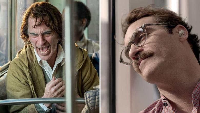 Joaquin Phoenixz lewej: Joker (2019)do obejrzenia w: iTunes, Chili, Rakutenz prawej: Ona (2013)do obejrzenia w: iTunes, HBO GOJoaquin Phoenix to aktor