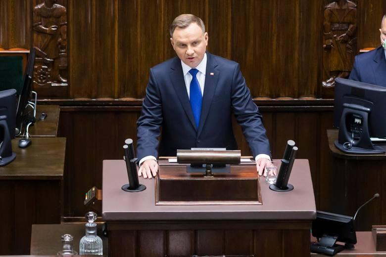 06.08.2020 -zaprzysiężenie prezydenta RP Andrzeja Dudy