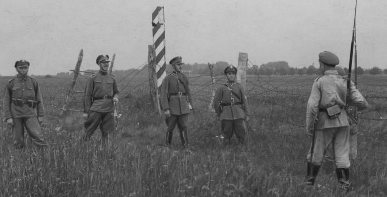 Żołnierze KOP spotkali się z sowieckim patrolem