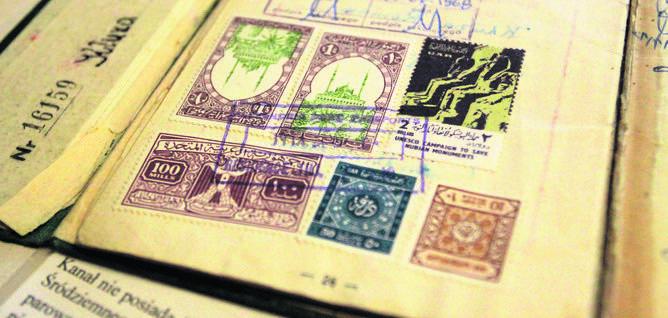 Świąteczne życzenia z marynarskimi znaczkami z 1968 roku