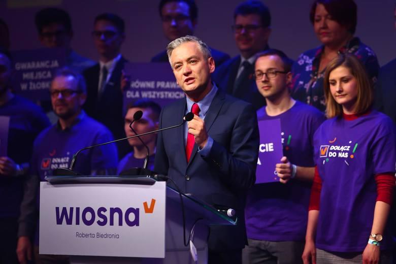 Wiosna Roberta Biedronia została utworzona na początku lutego, również z myślą o wyborczym maratonie, który otwierają wybory do Parlamentu Europejskiego.