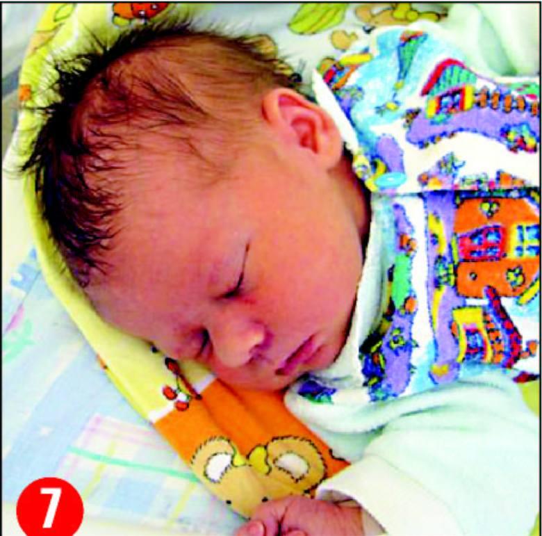 Alicja, córka Bogumily i WitoldaMichalaków z Baranowa,urodzila sie 1 sierpnia o godz. 23.00.Wazyla 3590 g, mierzyla 54 cm.