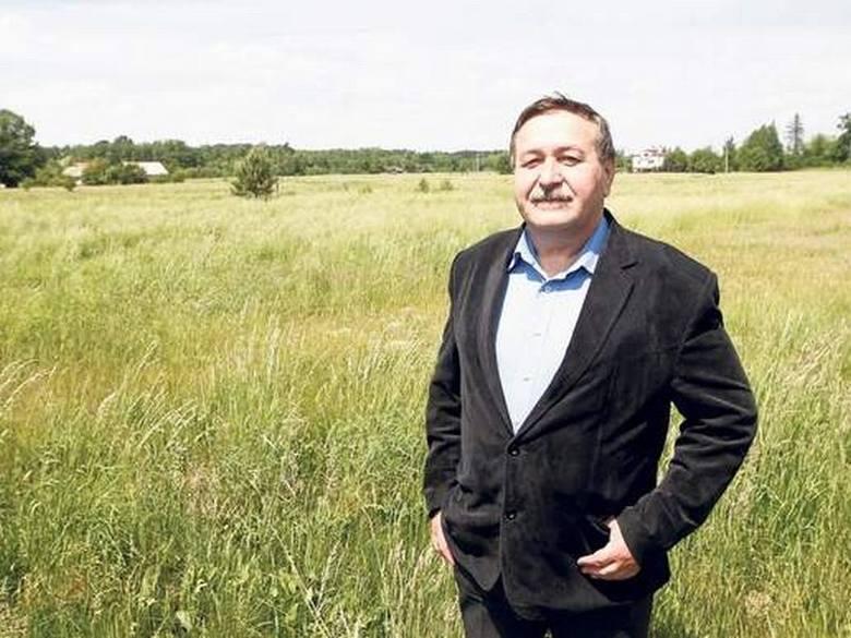 Andrzej Benedyk, wójt gminy Żołynia
