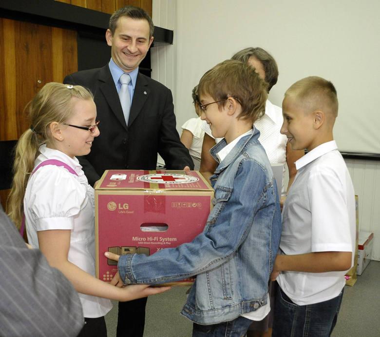 Szkoły i przedszkola, które wzięły udział w akcji, <br>otrzymały nagrody.