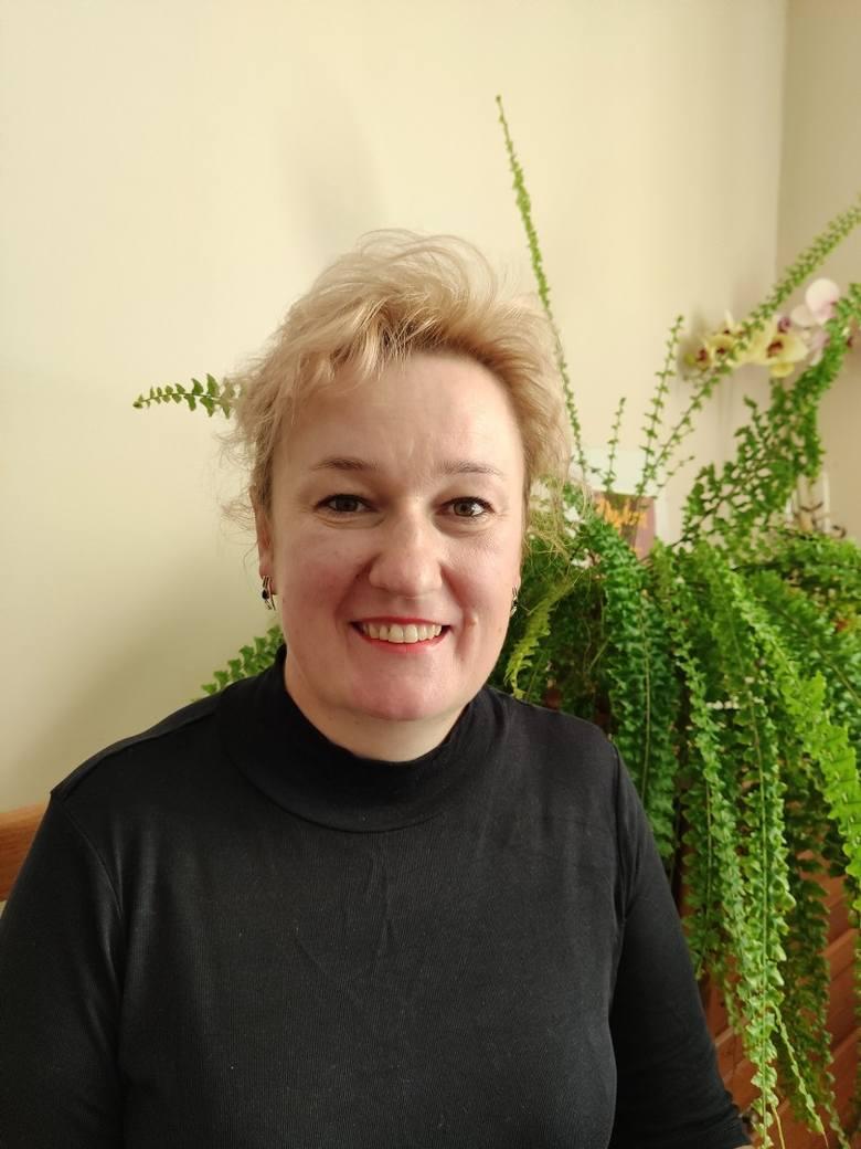 Monika Kołosińska ze wsi Poniatowa.Gospodyni Roku
