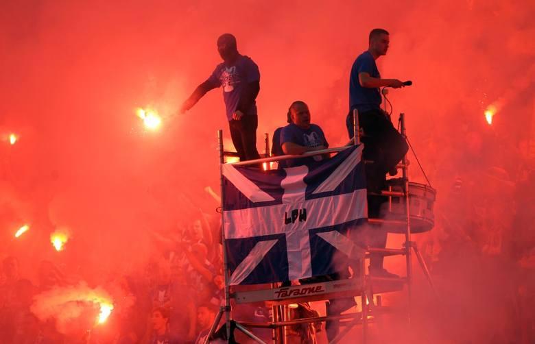 Lech Poznań - Legia Warszawa: Najlepsze oprawy i zdjęcia kibicówPrzejdź do kolejnego zdjęcia ------>