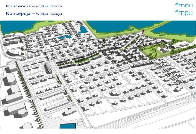 Projekt mpzp obejmuje 173 hektary, z czego ok. 104 ha zaznaczone są jako tereny zieleni, wolne od zabudowy. 46 ha ma być pod zabudowę, a kolejne 23 pod budowę dróg.<br />
