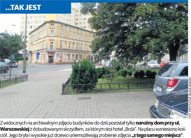 Bydgoszcz na starych fotografiach. To samo miejsce dawniej i dziś [zdjęcia]