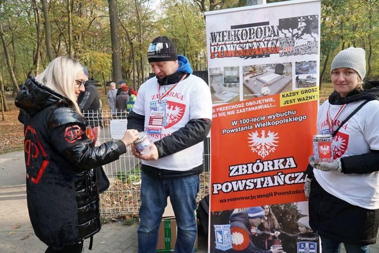 Pobicie ubiegłorocznego rekordu Zbiórki Powstańczej wydaje się przesądzone. Do tej pory kibice Lecha Poznań zebrali ponad 380 tys. zł, a liczenie wciąż