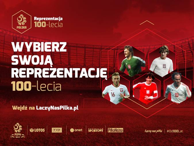 Wybierz swoją reprezentację Polski 100-lecia!