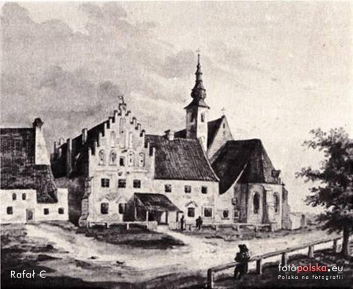 Lata 1820-1830, Klasztor i kościół OO. Bernardynów pw. św. Katarzyny Aleksandryjskiej.
