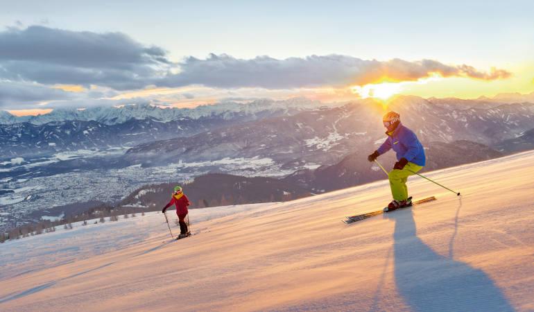 Narty w południowych Alpach to gwarancja idealnych warunków. 7 powodów, dla których warto jechać do Karyntii.