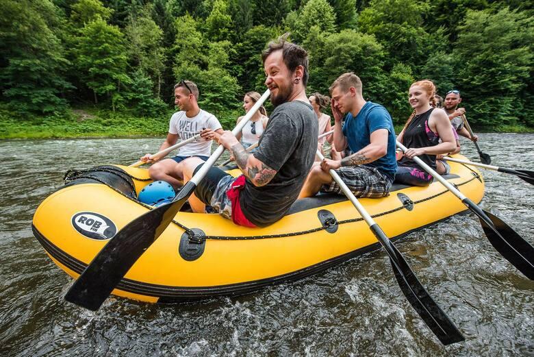 Rafting po Dunajcu
