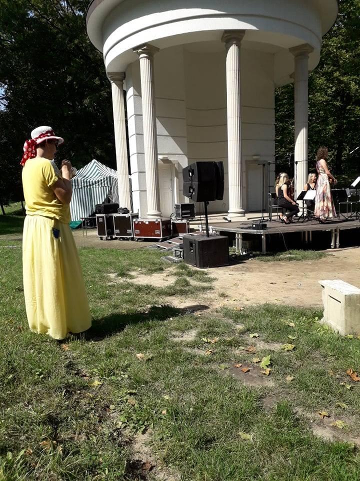 Sławomira Wilga i Apertus Quartet na Śniadaniu na Trawie w Skierniewicach [ZDJĘCIA, FILM]