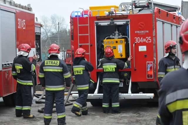 Pożar na OkoluPożar w hali produkcyjnej przy ulicy Nadrzecznej