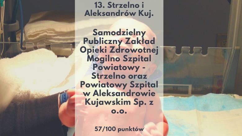 Kujawsko-Pomorskie jest drugim najlepszym województwem w kraju pod względem poziomu lecznictwa szpitalnego – wynika z rankingu szpitali stworzonego przez