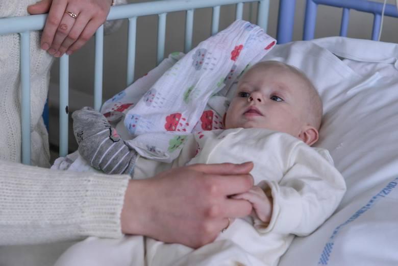16.01.2019 Gdańsk: Oddział Kardiochirurgii Dziecięcej im. WOŚP w Szpitalu św. Wojciecha na Zaspie