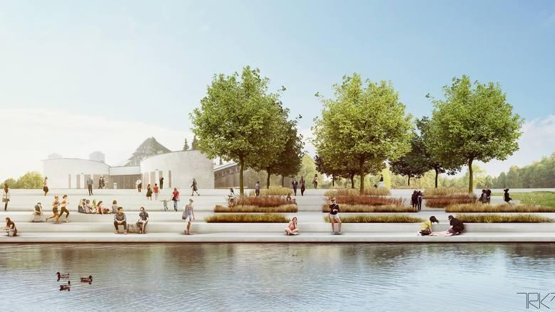 Przebudowany kanał regatowy, remont hali Kapelusz. To początek zmian w Parku Śląskim