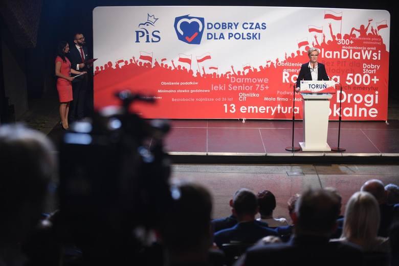 Były szef skarbówki, prawomocnie skazany za łapówki, to bliski współpracownik Marzenny Drab, rządzącej PiS w okręgu toruńsko-włocławskim - donoszą uprzejmie