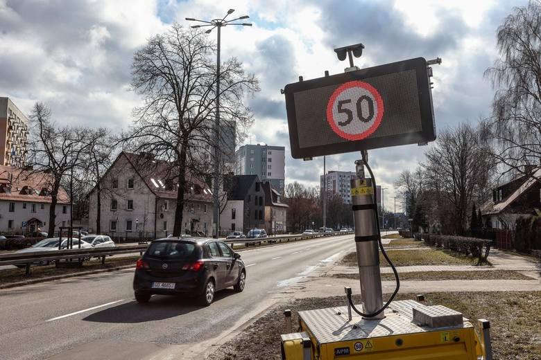 Po ograniczeniu prędkości na głównej arterii Gdańska, dwa razy więcej kolizji niż rok temu!