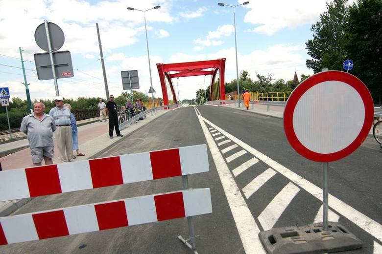 Otwarcie wiaduktu na Gdańskiej