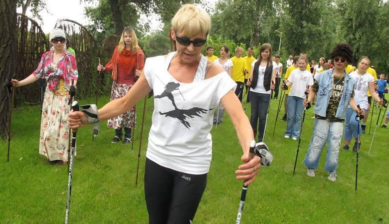 Grażyna Wyczałkowska - menedżer sportu, będzie gościem spotkania w sprawie powołania Powiatowej Rady Seniorów w Nowej Soli, 29 kwietnia w starostwie powiatowym