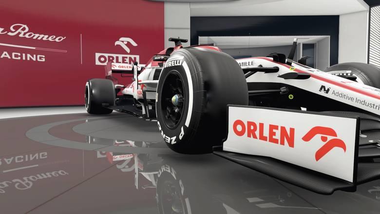 Zobacz bolid Alfa Romeo Racing Orlen w grze F1 2020