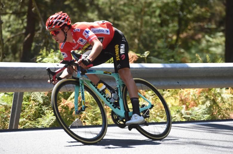 Vuelta Espana: Dylemat, czy czekać na lidera, nierozstrzygnięty. Movistar naciska na Rogliča