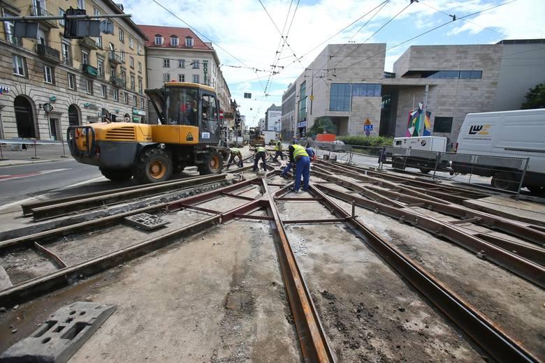 Wrocławskie MPK planuje prace na 2021 r. i przygotowuje przetargi na wykonanie robót. Mają być kupowane i wymieniane rozjazdy, remontowane sieci trakcyjne