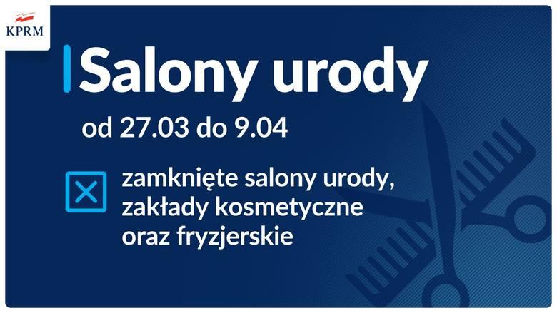 Nowe obostrzenia w Polsce będą obowiązywały od 27 marca. Oto pełna lista!Zobacz kolejne zdjęcia/plansze. Przesuwaj zdjęcia w prawo - naciśnij strzałkę