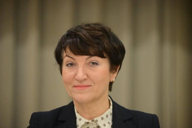 Elżbieta Anna Polak, marszałek województwa lubuskiego. Mieszka w Zielonej Górze