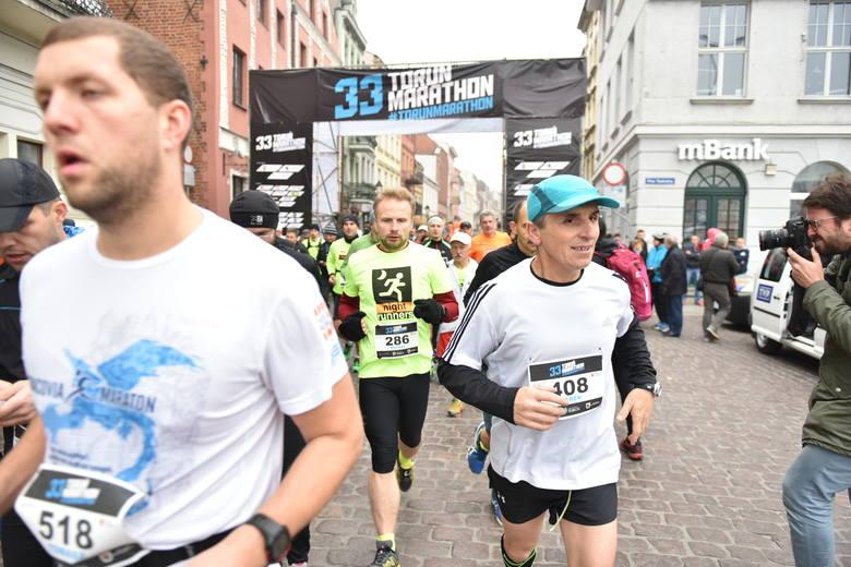 33 Toruń Marathon W 33 toruńskim maratonie udział brało ponad 500-set zawodników.