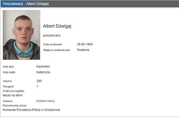 Oto najbardziej poszukiwani przez małopolską policję [LISTY GOŃCZE]