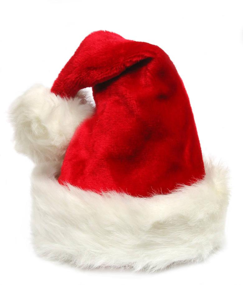 Prezenty na Mikołaja: Czapka Mikołaja. Może ten prezent nie jest oryginalny, ale na pewno ucieszy bliską Ci osobę.