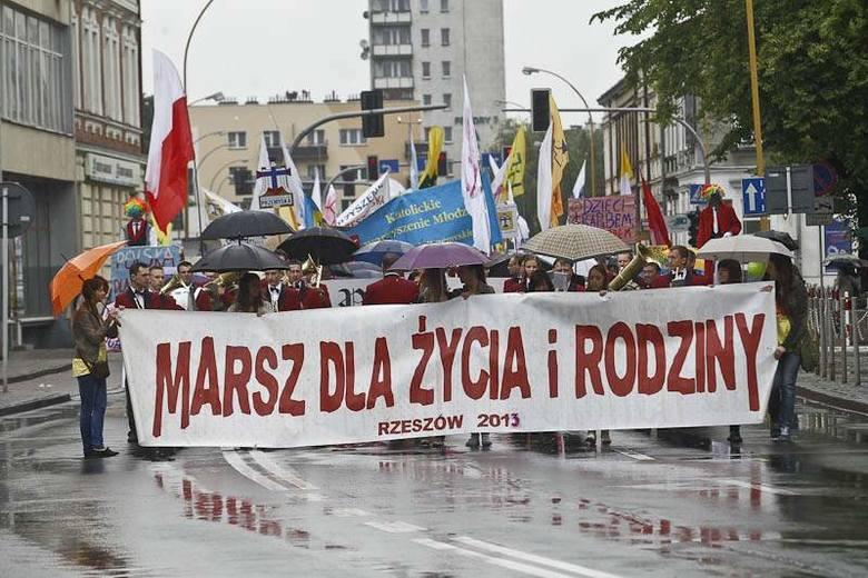 Marsz Dla Życia i Rodziny w Rzeszowie [FOTO]