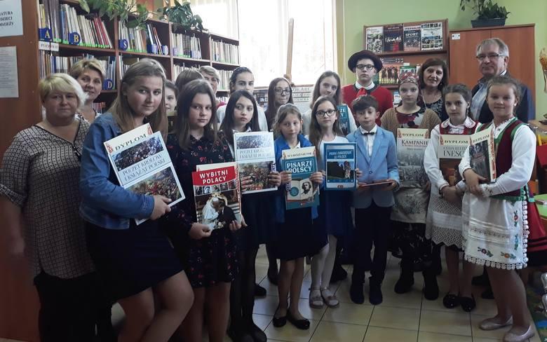 Czarnia. Kurpie Zielone w Literaturze - gminne eliminacje 36. konkursu [ZDJĘCIA]