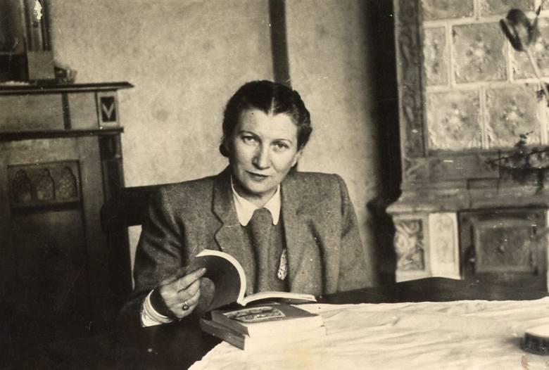 Ida Gliksztejn, zdjęcie powojenne.