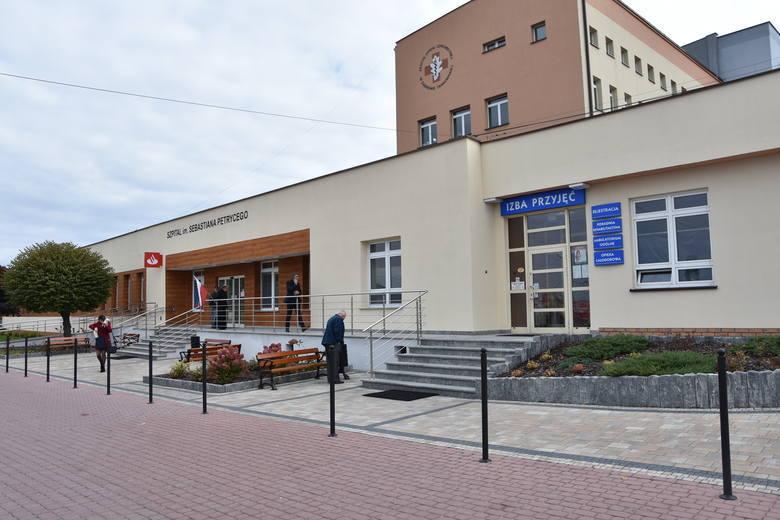 Zespół Opieki Zdrowotnej w Dąbrowie Tarnowskiej u. Szpitalna 1 - oddział zakaźny dla dorosłych