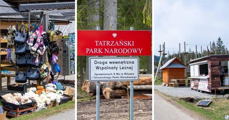 Tatry. Siwa Polana jak Gubałówka. Buda za budą, pamiątki, kiełbaski i lane piwo 21.05.2021