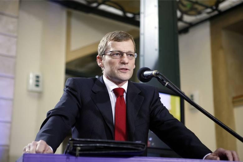 03.10.2010 Bernard Afeltowicz, kandydat na wiceprezydenta Wrocławia
