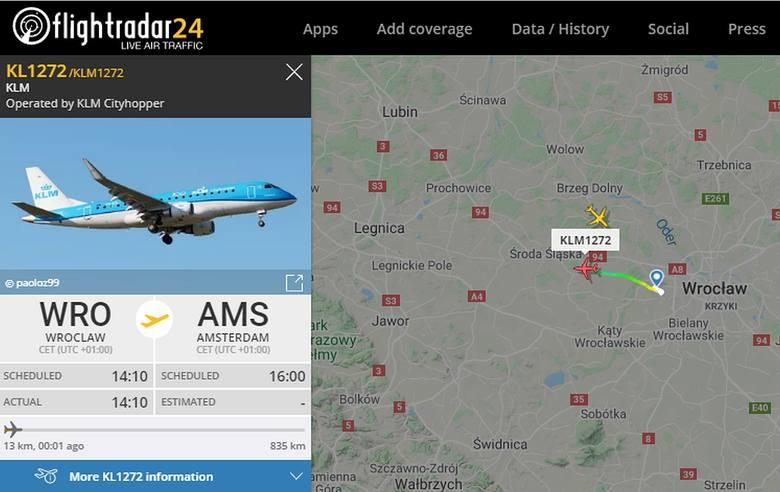 Z Wrocławia odleciał dziś samolot do Amsterdamu. Jak to możliwe, skoro obowiązuje zakaz lotów?