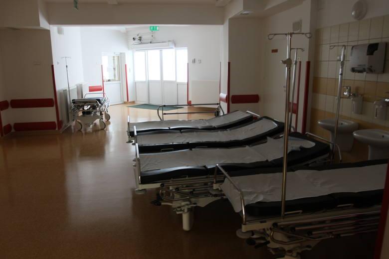 Tak wygląda Szpitalny Oddział Ratunkowy w białostockim Wojewódzkim Szpitalu Zespolonym. Ma salę operacyjną, salę resustacyjną (to tu ratowane jest życie),